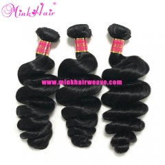 Wholesale Virgin Mink Hair Weave Loose Wave Brazilian Hair Extensions