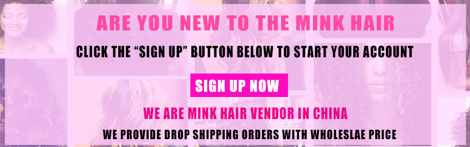 mink hair sign up