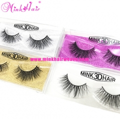 Mink Hair Factory Handmade 100% Mink Lash Extensions Thick Sexy Natural Mink 3D Lashes