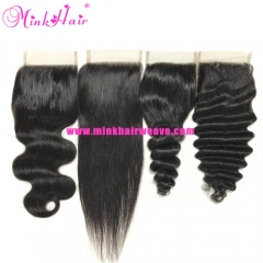 Wholesale Mink Malaysian Hair Lace Closure