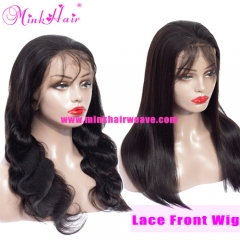 10A Lace Front Wig Brazilian Mink Hair Wig 13*6 Lace 150% Density Pre-Plucked with Baby Hair