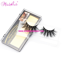 Thick soft Natural 25mm 3D Mink Lash Handmade Lashes