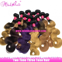 Ombre Three Tone Hair And Tone Tone Hair