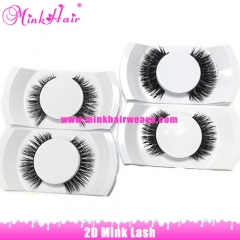 Mink Hair Company Wholesale 2D mink lashes low price top quality lash extensions hand made Mink Lash