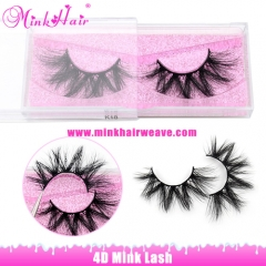 New 4D Mink Lash Wholesale Lash Extensions
