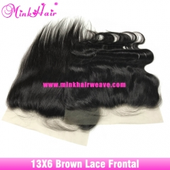 Hot Sale 13*6 Lace Frontal Body Wave and Silky Straight Hair Textures