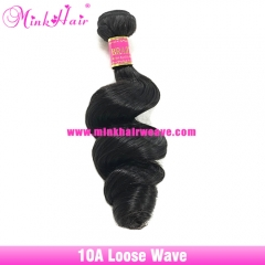 Wholesale Loose Wave Brazilian Hair Extensions Virgin Mink Hair Weave Good Cheap Hair