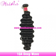 Deep Wave Brazilian Hair Bundles Diamond Virgin Hair Wholesale Mink Hair Vendor