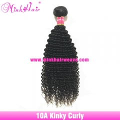 Affordable Mink Brazilian Hair Kinky Curly Single Bundle Wholesale 10A Grade Virgin Hair