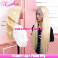 Blonde 5x5 Closure Wig and 13x4 13x6 Lace Frontal Wig 180% Density Pre-Plucked With Baby Hair